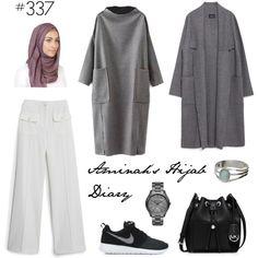 Aminah´s Hijab Diary #hijab #hijabfashion #modest #fashion #style #look #outfit #ootd #muslimah #germany