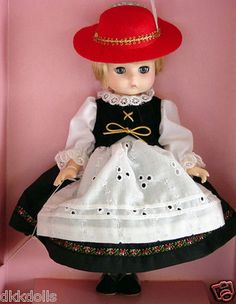 Effanbee L'il Innocents Germany Doll 1989 is a 9 in. doll listed for sale on Ebay as a buy-it-now item.