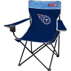 Coleman Tennessee Titans Quad Chair. Perfect for tailgating!