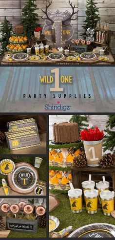 Create an atmosphere full of fun and excitement for your little one's first birthday with our Wild One Party Supplies! This trendy theme combines stripes and plaid prints with arrows, antlers and bear claws. Explore all of our 1st birthday party supplies & save 10% on your party ideas with promo code SZPINIT until 12/31/19 11:59 PM EST.