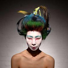 Spray Hairdos #hairstyles