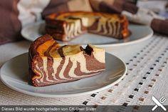 Zebra-Käsekuchen ohne Boden, ein sehr schönes Rezept aus der Kategorie Kuchen. Bewertungen: 113. Durchschnitt: Ø 4,2.