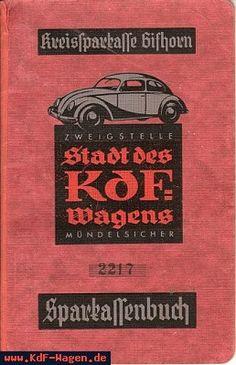 VW - 1942 - Sparkassenbuch - Nr. 2217, 5.2.1942 - [6702]-1