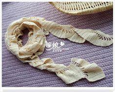 Uncinetto d'oro: Sciarpa bianca!