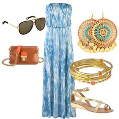 Great beach vacay dress.  Untitled #46, created by abbysands01