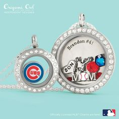 #mlb #cubs #baseball Batter up! New charms taking the plate on June 1st. All licensed and endorsed by the MLB.