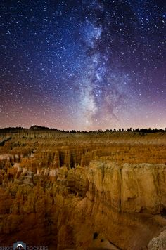Stargazing at Bryce, photographing the stars