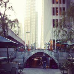 Walk away... Embarcadero Center, San Francisco