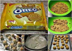 Mommy's Kitchen - Country Cooking & Family Friendly Recipes: Gingerbread Oreo Truffles {Great Christmas Gift}