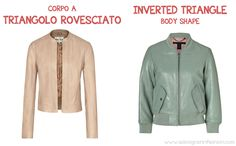 The right leather jacket for your body shape, inverted triangle body