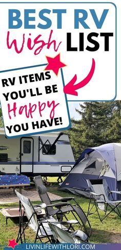 """10 Ultimate Wish List Items For Your Favorite RVer! If you're looking for a gift for your favorite RVer, take a look at this list of """"ultimate"""" items that will make their camping experience - just a little better! Family Camping, Rv Camping, Outdoor Camping, Family Travel, Glamping, Camper Life, Rv Life, Campers, Camping Must Haves"""
