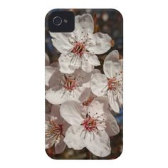 pink spring iPhone 4 Case-Mate case