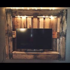 tv stand pallet - Google Search