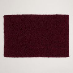 One of my favorite discoveries at WorldMarket.com: Fig Shaggy Bath Mat