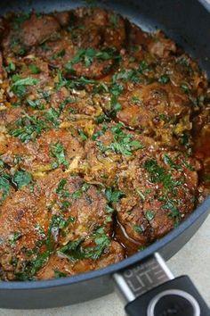 Pork Recipes, Cooking Recipes, Kielbasa, Food And Drink, Menu, Chicken, Dinner, Ethnic Recipes, Baron