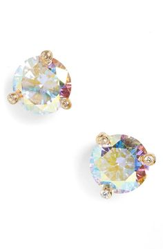 These shimmery Kate Spade stud earrings will always be in style.