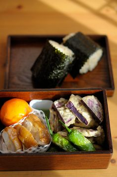 Imo-ten (Sweet Potato Tempura) with Matcha Salt, and quick Teriyaki Chicken | by babykins., via Flickr
