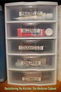 40 DIY First Apartment Organization Ideas – 40 DIY First Apartment Organisation Ideen – # Wohnung Medicine Cabinet Organization, Home Organisation, Diy Organization, Organizing Ideas, Organising, Organization Ideas For The Home, Home Decor Ideas, Medicine Cabinets, Medicine Storage