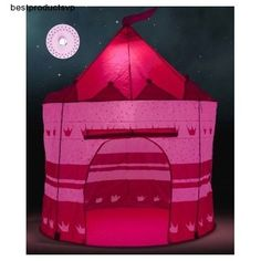 #Ebay #Pop #Up #Play #Tent #Girls #Pink #Princess #Castle #Led #Home #Garden #Glow #Dark #Gift #Fun