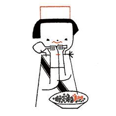 [일러스트] 福田利之(ふくだとしゆき)님의 독특하고 귀여운 일러스트 2탄 : 네이버 블로그
