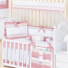 Kit Berço Belle Rosé Baby Bedding Sets, Cribs, Toddler Bed, Alice, Furniture, Home Decor, Baby Bedding, Down Comforter, Pillowcases