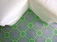Painted Wood Floor Tiles By Mirth Studio Current