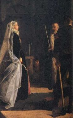 Mary Queen of Scots at execution