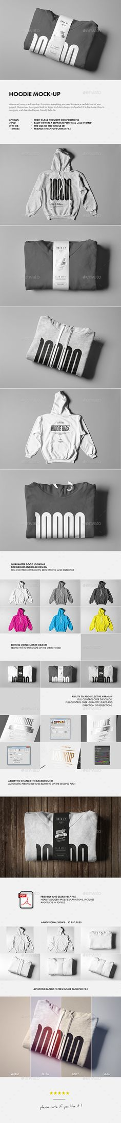Hoodie Mock-up #design Download: http://graphicriver.net/item/hoodie-mockup/13929242?ref=ksioks