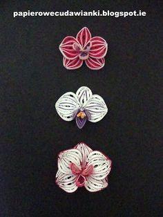 To co robię i co lubię: Quilling -jak zrobić storczyka Orchid- tutorial