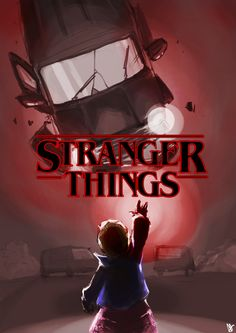 """""""I really, really, really like this show."""" Stranger Things (Eleven digital artwork)"""