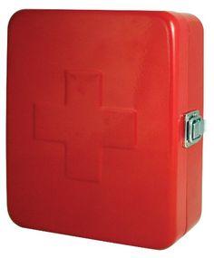 Kikkerland Empty First Aid Box, Red Kikkerland,http://www.amazon.com/dp/B007P00M4W/ref=cm_sw_r_pi_dp_MjnXsb1Q5GWH0RRH