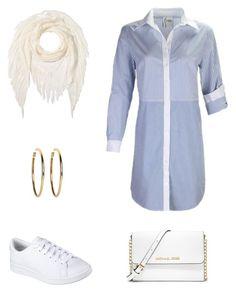 Stripes for Spring Double Denim, Missoni, Skechers, Polyvore Fashion, Stripes, Michael Kors, Spring, Jay, Casual