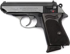 WALTHER PPK - Because I spoke German I was asked to go to the German Army Military Police School. There I earned the Silver Medal with the James Bond Walther PPK. The side arm of the German Military Police and the German Officer's. Weapons Guns, Guns And Ammo, James Bond, Walther Pp, Films Western, Naval, Cool Guns, Self Defense, Shotgun