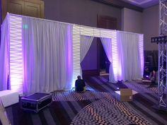 The Flood Wall Flats suspended from Inhabit are the original Wall Panels. Decorative Wall Panels, 3d Wall Panels, Diy Fashion Show, Runway Fashion, Trendy Fashion, 3d Wandplatten, Pipe And Drape Backdrop, Flood Wall, Church Stage Design