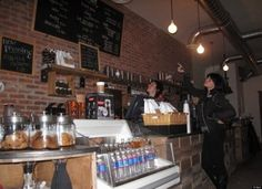 El Beit, Brooklyn. Coolest independent coffee shops across the u.s. via Huffington Post.