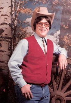 """""""This was one of my most awkward years, early 80′s when Urban Cowboy was blowing up at the box office. My school decided that spring photos would be exactly that. Well I am not sure if that was the greatest of ideas, but its given my family, facebook and now hopefully AFP plenty more laughs!!!"""" […]"""