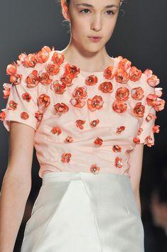 Bibhu Mohapatra at New York Fashion Week Spring 2014 - StyleBistro