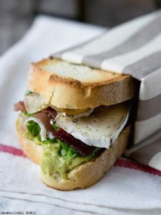 Warm Panini With Taleggio, Grilled Radicchio, And Speck Recipe ...