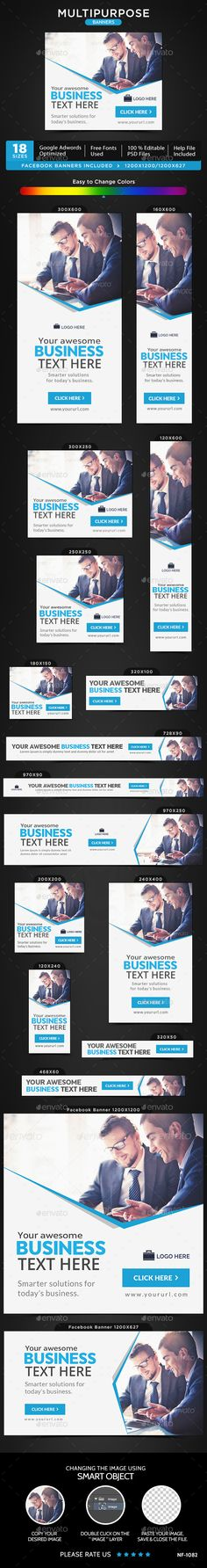 Multipurpose Web Banners Template PSD. Download here: http://graphicriver.net/item/multipurpose-banners/15009574?ref=ksioks