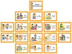 Nauczyć Ich Latać: Kodeks przedszkolaka Education, Holiday Decor, School, Diy, Asperger, Poster, Bricolage, Schools, Diys