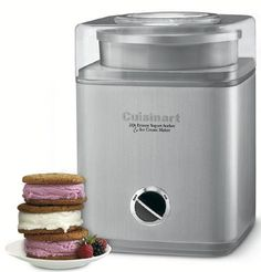 Cuisinart Ice Cream Maker (Brushed...