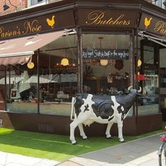 New store interiors and identity for butcher Parson's Nose - Retail Design World