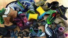 Einladung zur Blogparade: Zeigt her eure (Outdoor-)Schuhe! - matschbar