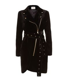 La Mania Allia Velvet Stud Jacket Dress available to buy at Harrods.Shop clothing online and earn Rewards points.
