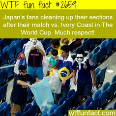 Japan's fans in Brazil, the best fans in the world -WTF funfacts