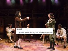 Cabinet Battle #1 // Hamilton + funny text posts