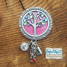 Mothers day gift. Tree of life. Personalize your crystals on my one of a kindTree of Life brooch or retractable id badge! Birthstones for Mother's Day