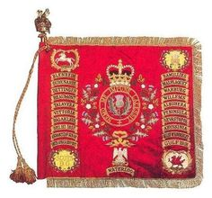 The Standard of the Royal Scots Dragoon Guards circa. Scottish Culture, Chivalry, Peeling, British Army, Military History, Scotland, Military Uniforms, Colours, Cold Steel