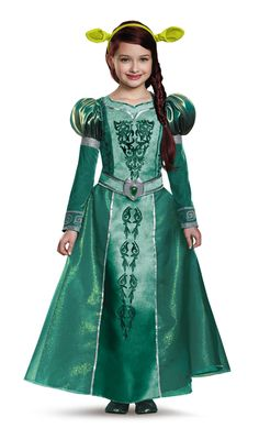 Pass the time in Far Far Away dressed in this Princess Fiona costume from the…