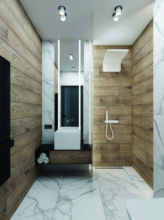 Get These Top Trending modern small bathroom remodel to inspire you Modern Small Bathrooms, Modern Bathroom Design, Contemporary Bathrooms, Bathroom Interior Design, Amazing Bathrooms, Bath Design, Contemporary Toilets, Marble Interior, Lobby Interior